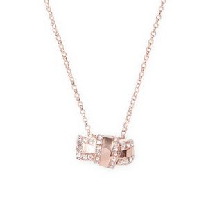 Kate Spade New York Pave Knot Pendant Necklace